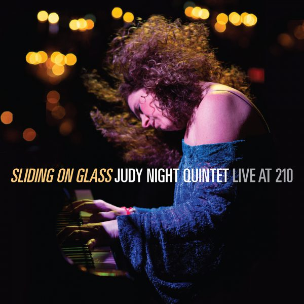 """CD """"Sliding On Glass (LIVE)"""" by the Judy Night Quintet"""